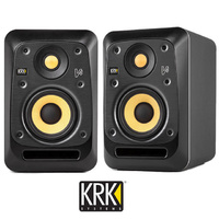 "KRK V4 Series 4 Powered 4"" Studio Monitor Reference Speaker Active V4S4 (Single)"