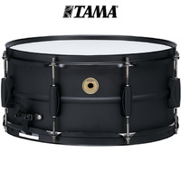 Tama Metal works 14 x 6.5 Steel Snare Drum Black BST1465BK