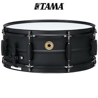 Tama Metal works 14 x 5.5 Steel Snare Drum Black BST1455BK