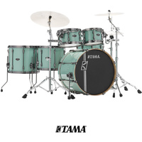 Tama Superstar Hyperdrive 6pce ML62HZBNZ SFG Sea Foam Green Drum Kit inc Hardware