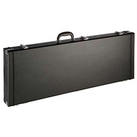Electric Guitar Hard Case Plush Lining Chrome Latches Keyed Lock Universal Size Ashton