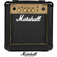 Marshall MG10 G Gold 10W Practice Guitar Combo Amplifier 1 x 6.5 inch speaker