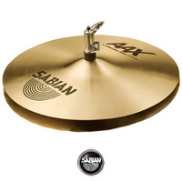 Sabian AAX 14 inch X-celerator Hi-hats Cymbals Traditional Finish  - Authorised Dealer