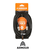 1 X Armour XLR-XLR 6 Metre Microphone Lead Cable 20ft