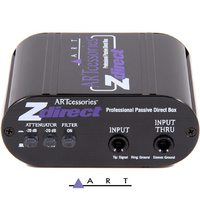 ART Audio Z direct Passive DI  Box Direct Injection