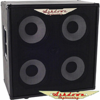 "Ashdown Rootmaster EVO 4x 10"" 500W 8 Ohm Bass Amplifier Speaker Cab Box RM410TEV"