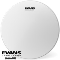 Evans 14 inch Power Centre Brush Reverse Dot Snare Drum Skin Level 360 B14G1RD