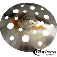 Bosphorus Gold Series 17 inch 18 Hole Crash Cymbal