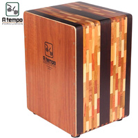 A Tempo El Artesano Cajon Mohena Muskwood and Walnut Made in Peru Inc Bag