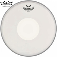 Remo Controlled Sound CS White Under Dot Coated 14 Inch Drum Head Skin CS-0114