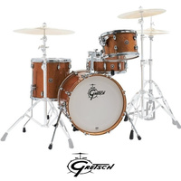Gretsch Catalina Club Jazz 4 Pce Bronze Sparkle Shell Drum Set Kit