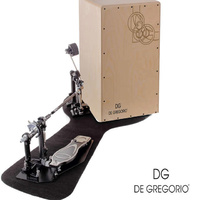 De Gregorio Calima Cajon and DG Cajon Pedal All Birch Front Back and Sides