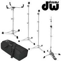 DW 6000 Series Hardware Pack Hi-hat, Snare, Boom Cymbal Stand Stand