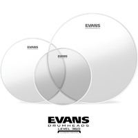 Evans G1 Clear Rock Size Drum pack 10 12 16 ETP-G1CLR-R