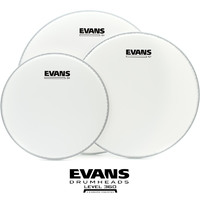 Evans G1 Coated Fusion Size Drum pack 10 12 14 ETP-G1CTD-F