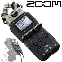 Zoom H5 XY Handy Audio Recorder with Interchangeable Capsules