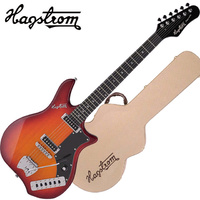 Hagstrom Impala Cherry Sunburst Electric Guitar inc Hardcase HSIMPCSB