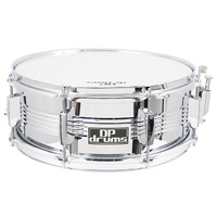 DP Drums Steel Shell Beaded Snare Drum 14 x 5.5 Inch SD1057