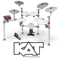 KAT Percussion KT3 Digital 6pce Drum Kit with 2 crash cymbal and ride