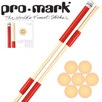 Promark Lightning Rods L-RODS Drum Sticks 7 Birch Dowels