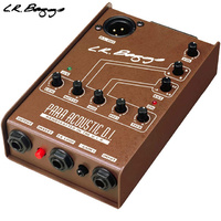 LR Baggs Para DI Acoustic Guitar DI 5 Band Eq Pre Amp Direct Injection Box