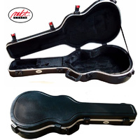 Dreadnought Acoustic Guitar Flight Hard Case TSA Latches Super Plush Lining