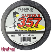Nashua 357 Gaffer Tape 40m Roll 48mm x 40m Gaffa(Single Roll