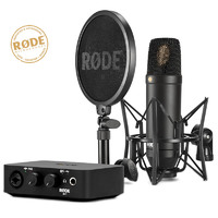 Rode Ai1 Audio Interface NT1 Condenser Microphone Complete Studio Recording Kit
