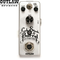Outlaw Lock Stock Barrel 3 Model Distrortion Guitar Effect Pedal