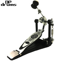 Professional Single Bass Drum Pedal Twin Chain DP Drums PD500
