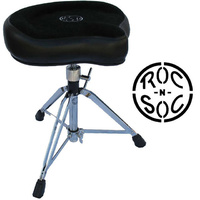 Roc n Soc Manual Spindle Original Black Top Drum Throne