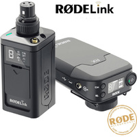 Rode Rodelink Newsshooter Kit Digital Wireless Microphone Plug Pack and Camera Receiver