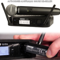 Shure GLXD24SM58  Professional SM58 Digital Wireless Microphone System Handheld