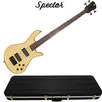 Spector Legend Classic 4 String Natural Oil Stain Bass Guitar and Hardcase