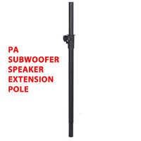DP Stage SS-010 Heavy Duty PA Subwoofer Speaker Extension Pole 35mm Diameter