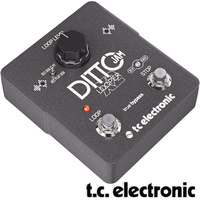 TC Electronic Ditto Jam X2 Looper Guitar Loop Pedal