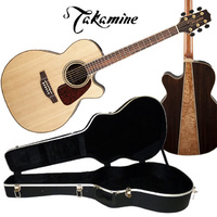 Takamine G90 Series GN93CE Cutaway NEX Acoustic Electric Guitar Natural inc case