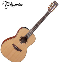 Takamine guitars  Pro series P3NY Solid Cedar Top New Yorker Acoustic Electric Guitar Natural inc case