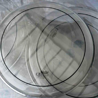 "Remo Clear Pinstripe 10"", 12"", 14"" UT Fusion Drum Head Pack"