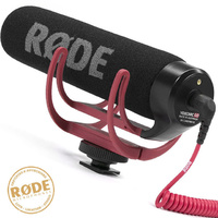 Rode VideoMic Go Light weight Shotgun Camera Video Microphone DSLR DVCAM Video Mic