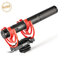 Rode Videomic NTG On Carera Super Caridiod Shotgun Directional Condenser Microphone with Rycote Mount