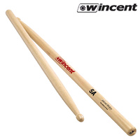 Wincent 1 x Pair 5A US Hickory Wood Tip Drum Sticks