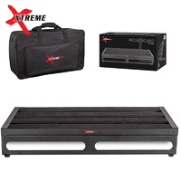 Xtreme Pro Large Guitar Pedal Board inc Bag 56cm x28cm